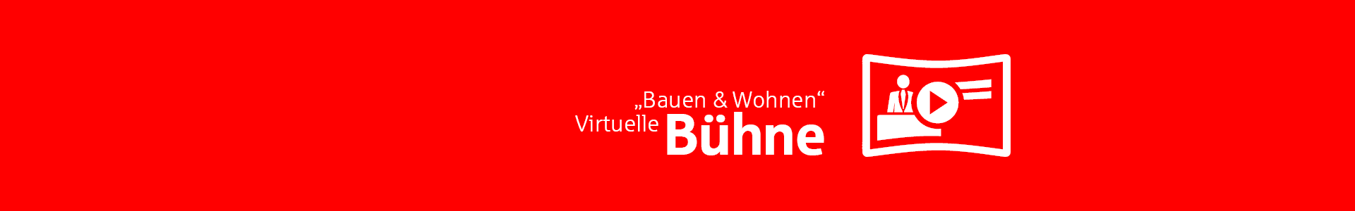 Immobilienmesse Messe-Bühne